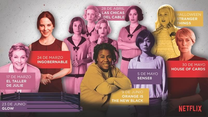 Series originales de Netflix con mujeres auténticas que se estrenan en 2017 - series-originales-netflix-mujeres-2017