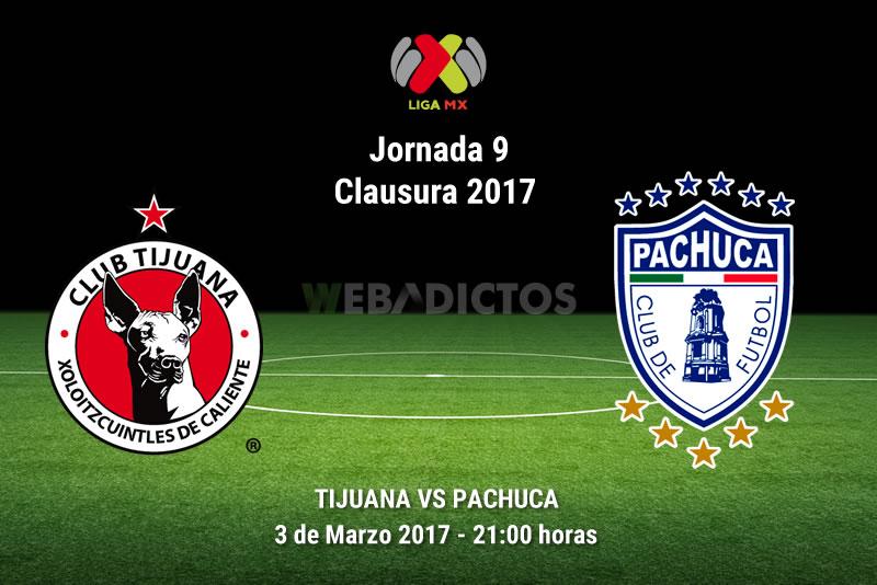 Tijuana vs Pachuca, Jornada 9 del Clausura 2017 | Resultado: 2-3 - xolos-tijuana-vs-pachuca-j9-clausura-2017
