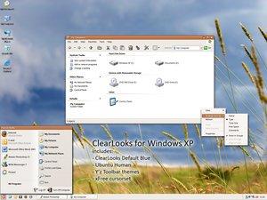 Temas Visuales Para XP - Transforma tu Escritorio de XP a Ubuntu - clearlooks_for_windows_xp_by_schmoovepng