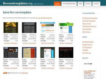 Templates Web en CSS Gratuitas y listas para descargar - freecsstemplatesorg