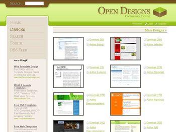 Templates Web en CSS Gratuitas y listas para descargar - opendesignsorg