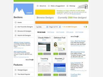 Templates Web en CSS Gratuitas y listas para descargar - oswdorg