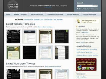 Templates Web en CSS Gratuitas y listas para descargar - templatesarcsinse