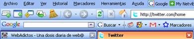 Mas de 30 Temas Para Firefox - tema_firefox_outlook2003