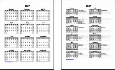 calendarios word Crear calendarios en línea gratis en estos sitios