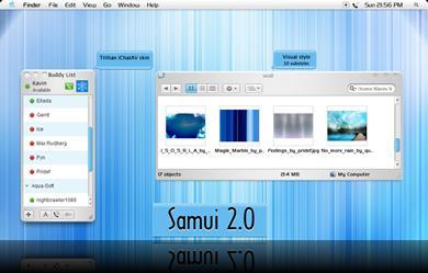 samui 2 0 guikit for windows by kavin Tema Para Windows Estilo Mac Samui 2.0