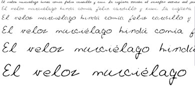 fuentes cursivas gratis Fuentes Manuscritas Gratis