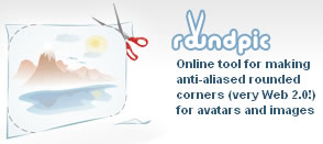 Hacer Imagenes Con Esquinas Redondeadas - logo_roundpic
