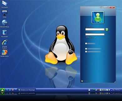 tema linux fedora Tema Fedora Linux Para Windows XP