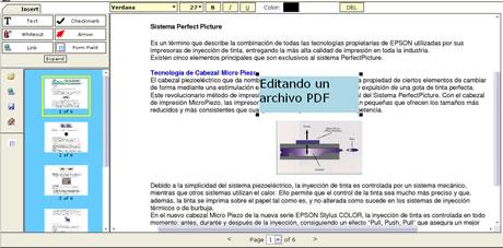 editar pdf en linea Leer y Editar Archivos PDF en Linea