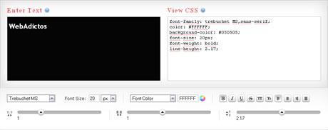 Crear Estilos de Texto con CSS y Previsualizarlos - estilos-texto-css