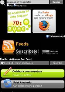 sidebar webadictos Colabora y Anunciate en WebAdictos