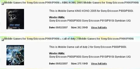 juego java gratis sony ericcson: