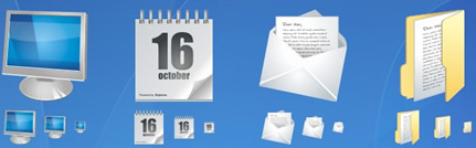 Iconos para Windows, Mac y Linux gratis en Icon Archive - iconos-gratis-computadora