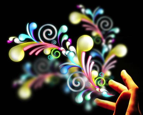 crear imagenes swirl Como crear imagenes Swirl en Illustrator y Photoshop