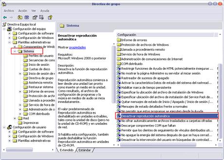 desactivar autorun paso2 Desactivar autorun en memorias USB para evitar virus