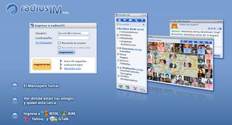 Messenger en linea RadiusIM - messenger-en-linea
