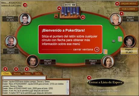 Poker gratis en español en Poker Stars - poker