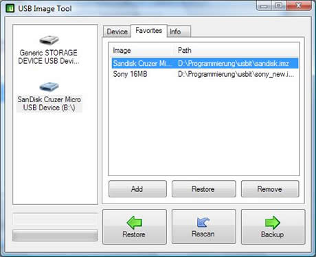 Respaldar memoria usb con USB Image tool - respaldar-usb