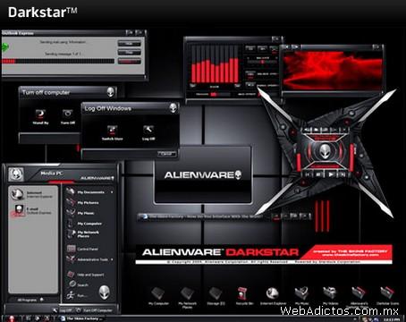 Temas Windows, AlienGUIse Theme Manager - temas-windows-darkstar