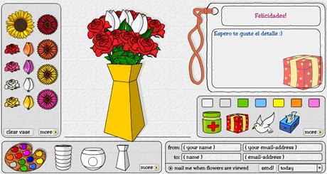 envio de flores Envio de flores por correo con Flowers2mail