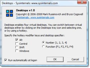 escritorios virtuales Escritorios virtuales en Windows con Desktops v1.0