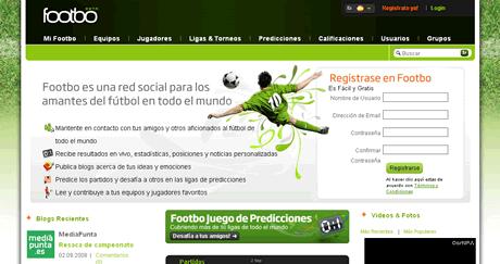 Futbol, Footbo red social de futbol - futbol