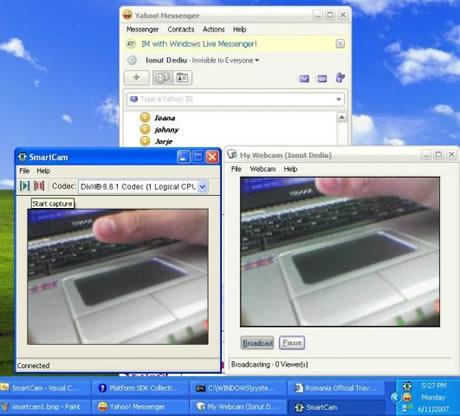 Tu celular como WebCam gracias a SmartCam - celular-webcam-smartcam