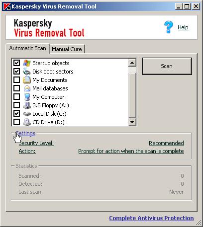 Eliminar virus con Kaspersky Virus Removal - eliminar-virus-kaspersky_virus_removal_tool