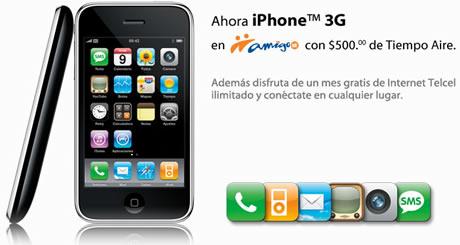 iphone amigo Precio del iPhone en Amigo Kit de Telcel