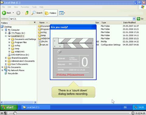 Grabar videotutoriales con Screen to Exe - grabar-pantalla