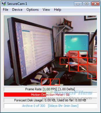 camaras de seguridad Webcams como camaras de seguridad gracias a Secure Cam