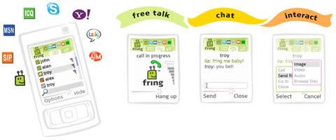 Msn para celular y llamadas gratis con Fring - chat-celular