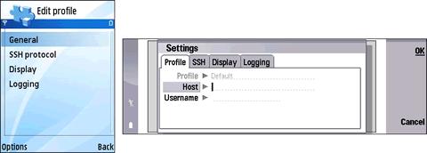 Software Nokia, Cliente SSH Putty para nokia - ssh-celulares
