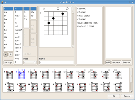 tablaturas guitarra Editor de tablaturas de guitarra TuxGuitar