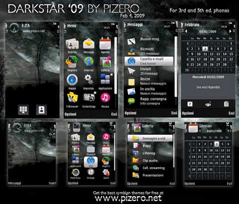 Themes nokia, DarkStar09 - themes-nokia-s60