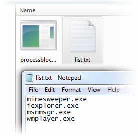 Bloquear programas en windows con Process Blocker - bloquear-programas