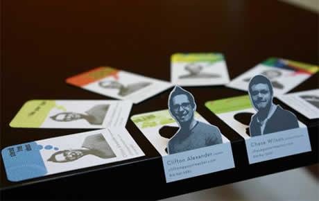 tarjetas presentacion Tarjetas de presentacion creativas, 60 diseños que te gustaran