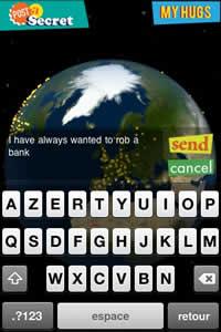 Compartir secretos anonimamente desde tu iPhone con Earth Secrets - contar-secretos-iphone