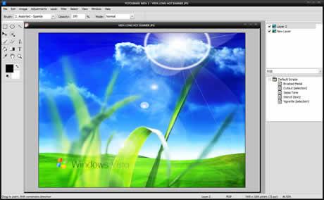 editor de fotos1 Editor de fotos, Fotografix