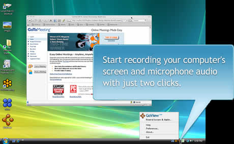 Grabar videos de la pantalla de tu computadora con GoView - grabar-pantalla
