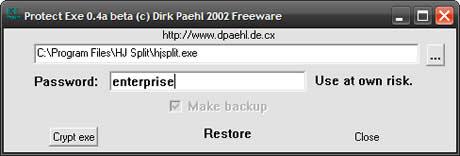 Proteger programas con contraseña - poner-password-programas