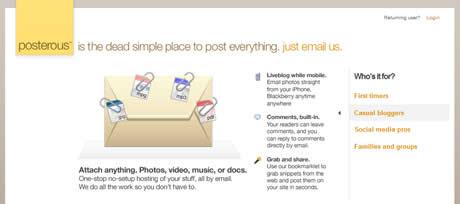 Crea tu blog mandando emails con Posterous - postear-por-correo