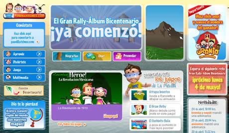 sitios para ninos Sitios para niños de juegos y otros