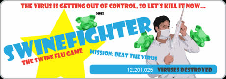 Influenza porcina, Juego online - influenza-humana-juego