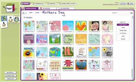 Tarjetas del dia de la madre creativas con SmileBox - tarjetas-dia-de-la-madre