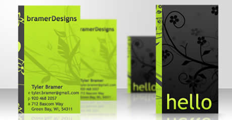 Tarjetas de presentacion, ejemplos de tarjetas hechas con vectores - tarjetas-presentacion-3