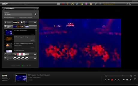 Videos de musica en tu escritorio con LoomTV - videos-de-musica