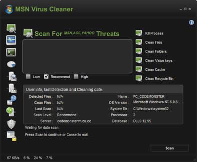 Virus msn, eliminalos con MSN Virus cleaner - virus-messenger
