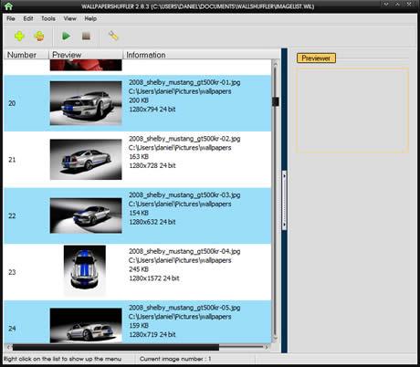 cambiar wallpapers Cambiar fondos de pantalla automaticamente con Wallpaper Shuffler